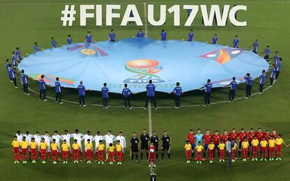 Mondiali Under 17, il calendario delle partite