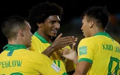 Mondiali Under 17, terza vittoria per il Brasile