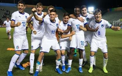 Italia Under 17, la storia di Gaetano Oristanio