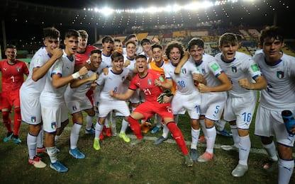 Mondiali U17, l'Italia sfida il Brasile nei quarti