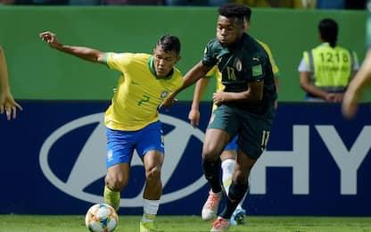 Italia fuori dal Mondiale U17, ko 2-0 col Brasile