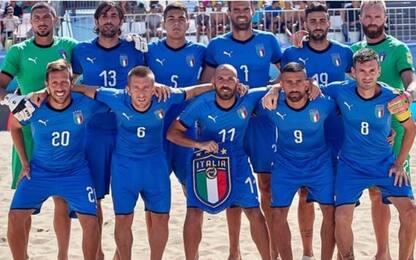 Mondiali Beach Soccer 2019: i convocati azzurri