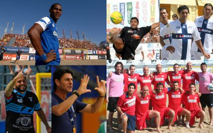 Da Conte ad Aldair: tutti quelli del beach soccer
