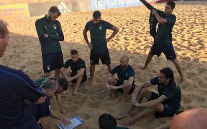 Beach Soccer, stasera ai quarti è Italia-Svizzera