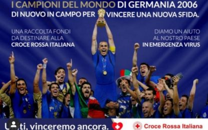 """Be Champion Against COVID 19"", la raccolta fondi"