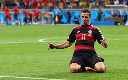 Marcatori all time dei Mondiali: Klose uber alles