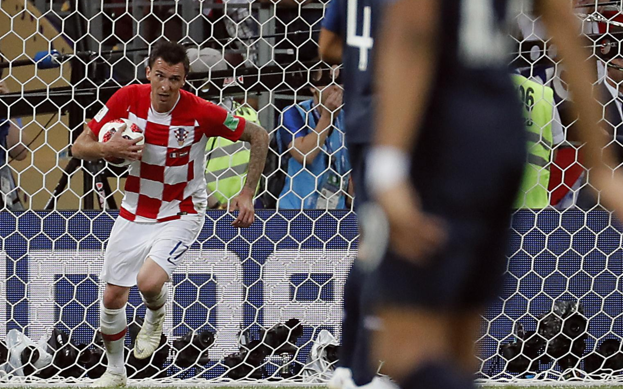 Mandzukic nella finale Mondiale
