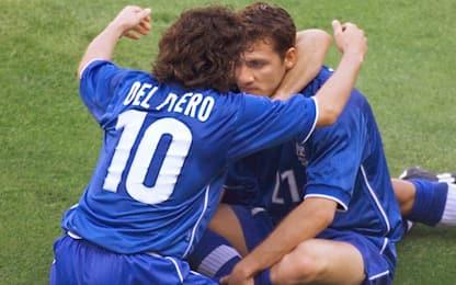 """Francia 98, Del Piero e Vieri: """"Esultanza casuale"""""""