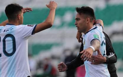 Lautaro-Correa, l'Argentina vince con gli italiani