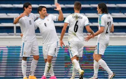 Show Uruguay: 0-3 in Colombia e sorpasso