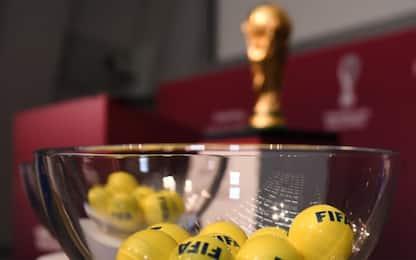 Qualificazioni Mondiali 2022, il sorteggio su Sky