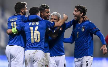 Le possibili avversarie dell'Italia al sorteggio