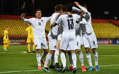 Italia, Sensi-Immobile: Lituania battuta 2-0