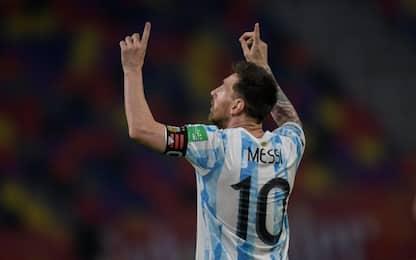 Tra Messi e Sanchez finisce 1-1, vince la Colombia