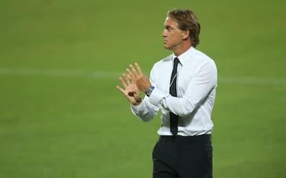"""Mancini: """"Bella risposta. Record? Siamo felici"""""""