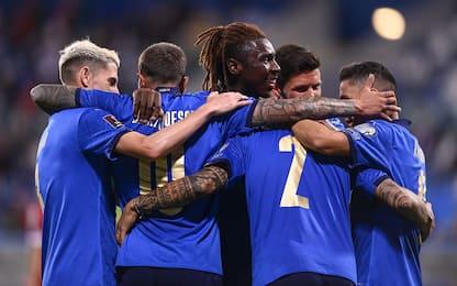 L'Italia torna a vincere: 5-0 show alla Lituania