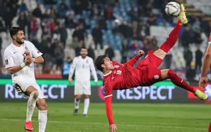 """Gli """"italiani"""" in campo: 4 gol, doppietta Vlahovic"""