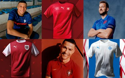 Le nuove maglie per Nations League ed Europei