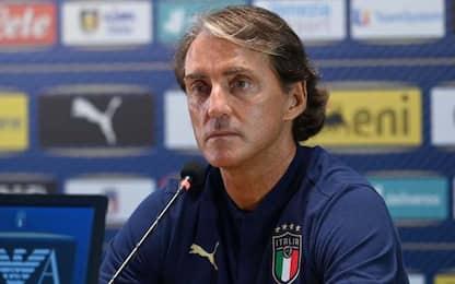 """Mancini: """"Contro l'Olanda tocca a Immobile"""""""