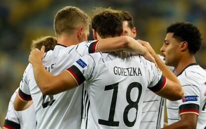 Malinovskyi-gol, ma vince la Germania. Spagna ok