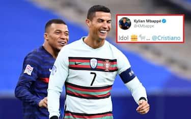 mbappe ronaldo twitter