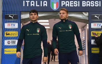Italia-Olanda, le probabili formazioni