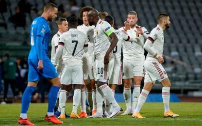 Doppio Lukaku e il Belgio va, Polonia-Bosnia 3-0