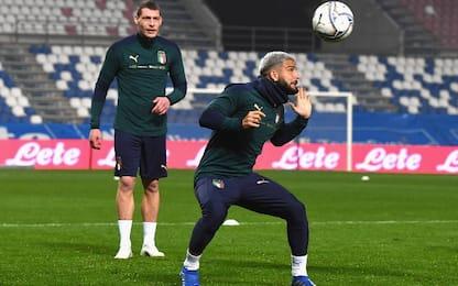 Italia-Polonia: Bastoni e Bernardeschi dal 1'
