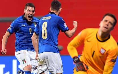 Italia, Jorginho-Berardi: Polonia ko e 1° posto