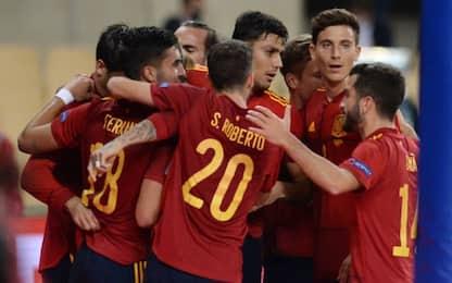 La Spagna ne fa sei alla Germania: a segno Morata
