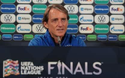 """Mancini: """"Perdere? Speriamo dopo dicembre 2022"""""""