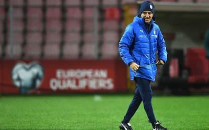 """Mancini: """"Belotti dal 1', in Bosnia per vincere"""""""
