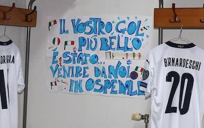 I piccoli del Bambino Gesù sempre con l'Italia