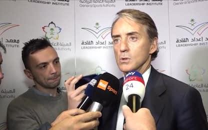 "Mancini: ""Consapevoli qualità, puntiamo a Europeo"""