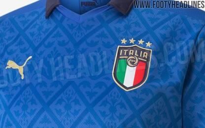 Rinascimento Italia, la maglia per l'Europeo. FOTO