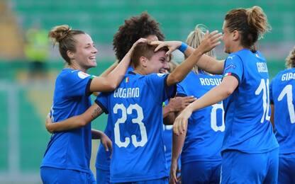 Italia donne, le date delle qualificazioni europee