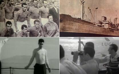 Italia 1950, quel viaggio in nave in Brasile. FOTO