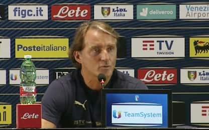 """Mancini: """"Voglio la finale di Nations League"""""""