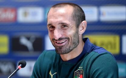 """Chiellini: """"Rispetto Sarri, no paragoni con Pirlo"""""""