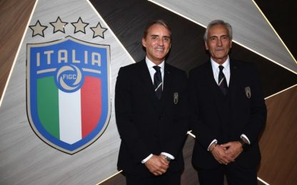 """Gravina: """"Mancini rinnoverà prima degli Europei"""""""
