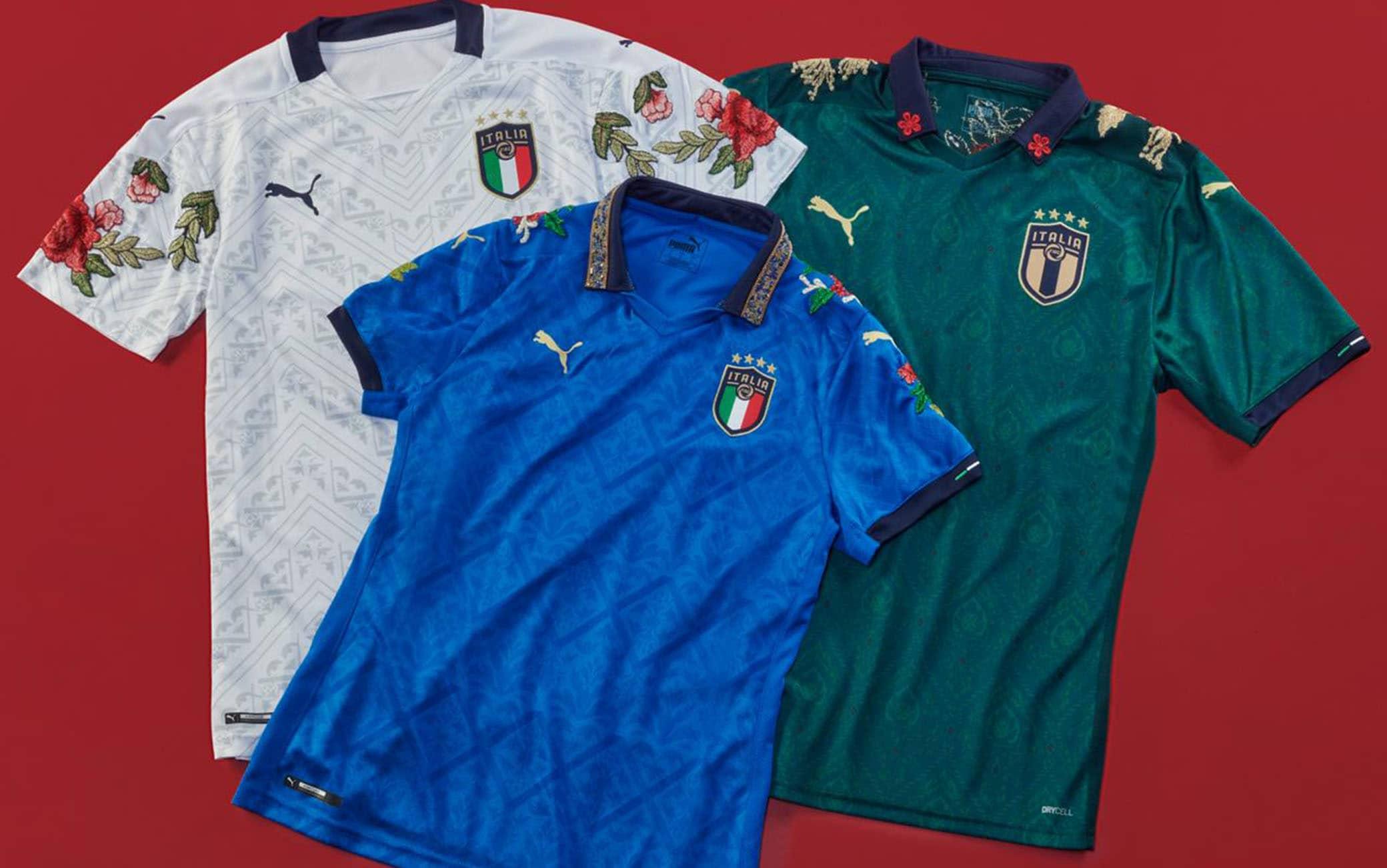 Maglia Italia, i completi della Nazionale in omaggio alla moda e ...