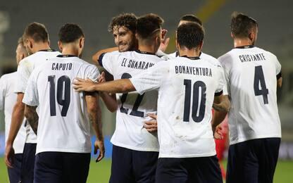 Mancini vince anche coi cambi: Italia-Moldavia 6-0