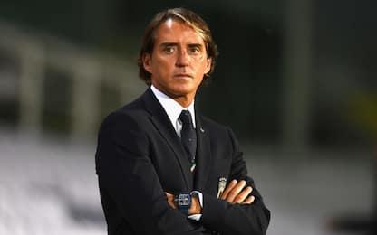 Mancini da record, miglior Ct per % di vittorie