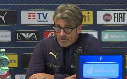 """Evani fa il ct: """"Non vogliamo deludere Mancini"""""""