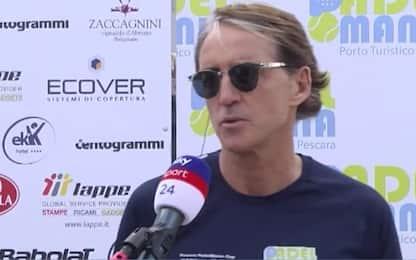 """Mancini: """"Siamo fiduciosi per recupero Verratti"""""""