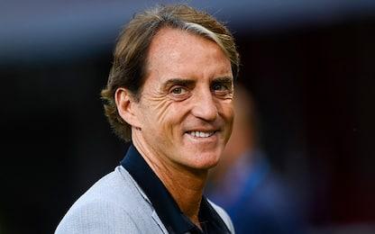 """Mancini: """"Test di buon auspicio, è la mia Italia"""""""