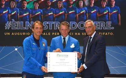 Premio Uefa per il progetto Figc-Fondazione LAPS