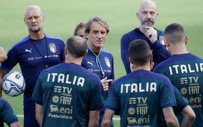 Esordienti in Azzurro: con Mancini sono già 36