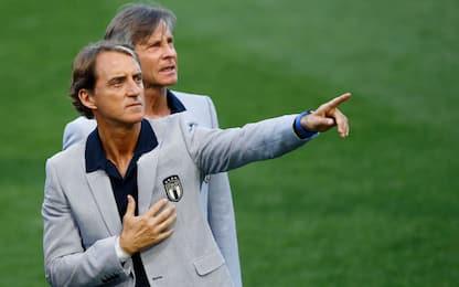 Esordienti in Azzurro: con Mancini sono già 35