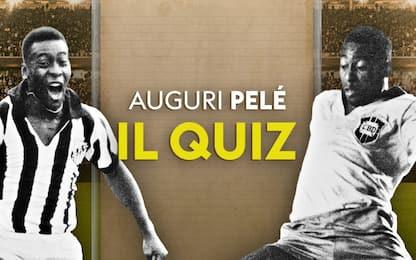 QUIZ: Pelé compie 80 anni, conosci tutto su O Rei?